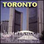 Toronto Ontario Canada City Hall towers