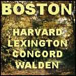 Boston Harvard Lexington Concord