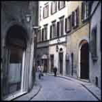 Florence curved alley