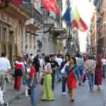 Rome Spagna streets