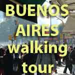 Buenos Aires walking tour