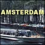 Amsterdam Holland travel video tour boat