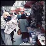 London newstand