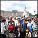 London England  group Buckingham Palace