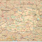 Austria  map in public domain, free, royalty free, royalty-free, download, use, high quality, non-copyright, copyright free, Creative Commons,