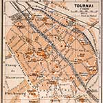 Tournai map