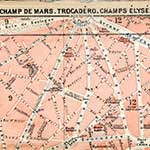 Paris France Champ Mars map in public domain, free, royalty free, royalty-free, download, use, high quality, non-copyright, copyright free, Creative Commons,