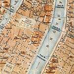 Lyons center  France maps in public domain, royalty free