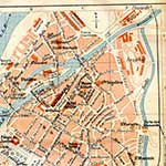Metz  France maps in public domain, royalty free