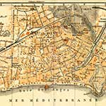 Nice  France maps in public domain, royalty free
