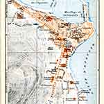 Ajaccio map France public domain royalty free