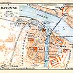 Bayonne map in public domain, free, royalty free, royalty-free, download, use, high quality, non-copyright, copyright free, Creative Commons,