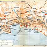 Cannes France map France public domain royalty free