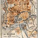 La Rochelle map in public domain, free, royalty free, royalty-free, download, use, high quality, non-copyright, copyright free, Creative Commons,
