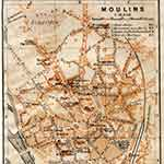 Moulins map in public domain, free, royalty free, royalty-free, download, use, high quality, non-copyright, copyright free, Creative Commons,
