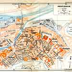 Perpignan map France public domain royalty free