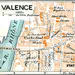 Valence  France map in public domain, free, royalty free, royalty-free, download, use, high quality, non-copyright, copyright free, Creative Commons,