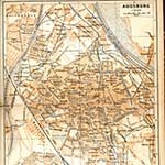 Augsburg Germany map in public domain, free, royalty free, royalty-free, download, use, high quality, non-copyright, copyright free, Creative Commons,