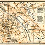BambergGermany map in public domain, free, royalty free, royalty-free, download, use, high quality, non-copyright, copyright free, Creative Commons,