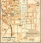 Ludwigsburg Germany map in public domain, free, royalty free, royalty-free, download, use, high quality, non-copyright, copyright free, Creative Commons,