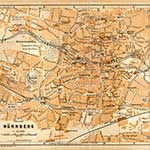 Nuremberg Germany map in public domain, free, royalty free, royalty-free, download, use, high quality, non-copyright, copyright free, Creative Commons,
