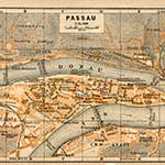 Passau Germany map in public domain, free, royalty free, royalty-free, download, use, high quality, non-copyright, copyright free, Creative Commons,