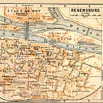 Regensburg Germany map in public domain, free, royalty free, royalty-free, download, use, high quality, non-copyright, copyright free, Creative Commons,