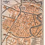 Haarlem map in public domain, free, royalty free, royalty-free, download, use, high quality, non-copyright, copyright free, Creative Commons,