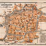 Leeuwarden map in public domain, free, royalty free, royalty-free, download, use, high quality, non-copyright, copyright free, Creative Commons,