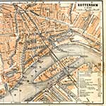 Rotterdam map in public domain, free, royalty free, royalty-free, download, use, high quality, non-copyright, copyright free, Creative Commons,