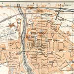 Parma map, royalty free, public domain