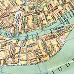 Venice Dorsoduro map in public domain, free, royalty free, royalty-free, download, use, high quality, non-copyright, copyright free, Creative Commons,