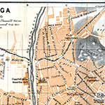 Malaga center Spain  map in public domain, free, royalty free, royalty-free, download, use, high quality, non-copyright, copyright free, Creative Commons,