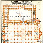 Seville Cathderal Spain  map in public domain, free, royalty free, royalty-free, download, use, high quality, non-copyright, copyright free, Creative Commons,