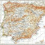 Spain copyright free map in public domain, free, royalty free, royalty-free, download, use, high quality, non-copyright, copyright free, Creative Commons,